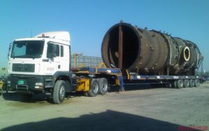 Safely Delivered Shipment Of Equipment For industrial Project