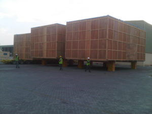 cargo containers inspection services are given by the third party of dubai