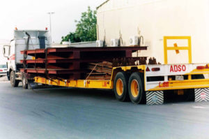 ADSO heavy steel fabricated cargo consignment is ready to deliver.