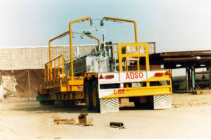the Grid generators are safely reached through the land freight by the cargo company.
