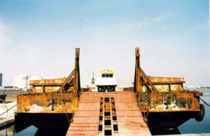project cargo launch boat for on rent purpose