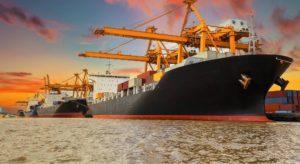 Sea cargo in dubai